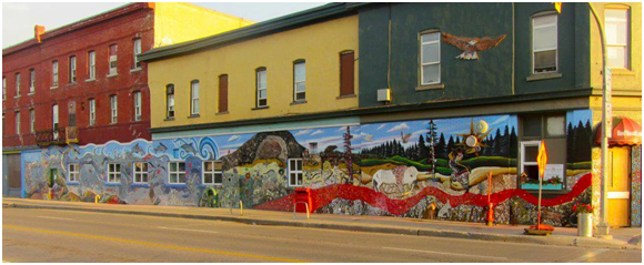 winnipeg mural - red road lodge